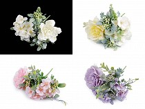 Artificial Flower Bouquet with a Small Peony