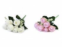 Artificial Bouquet of Buttercup Flowers