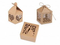 Wedding Paper Box / Favor Box - Natural