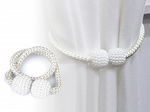 Lanticy Curtain Tiebacks, 2 Pcs Curtains Buckle Drapes Magnetic