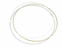 Metal Circle Hoop Ø60 cm for Dreamcatcher or DIY Decorating