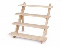 Faállvány / dekorációs lépcsők