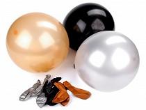 Nafukovací balónky metalické sada