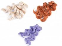 Parochňa / vlasy pre bábiky 25 cm vlnité