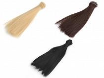 Parochňa / vlasy pre bábiky 20 cm