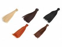 Paruka / vlasy pro panenky 20 cm