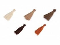 Păr / Perucă pentru păpuși, 15 cm