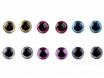 Bezpečnostní oči glitrové Ø25 mm