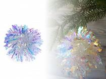 Vánoční ozdoba / třásňová koule Ø13 cm