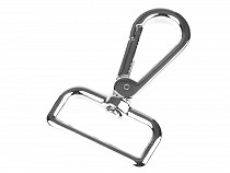 Metal Snap Swivel Hook, for strap width 30 mm