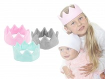 Fleece Crown / Headband for Kids