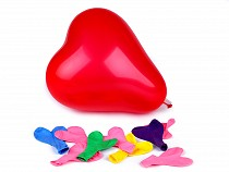 Nafukovací balónky srdce sada