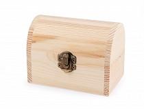 Kuferek drewniany do ozdobienia
