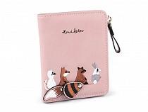 Fashion Wallet, Animal 10x11.5 cm