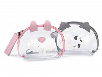 Transparent Case Bunny, Cat 14x20 cm