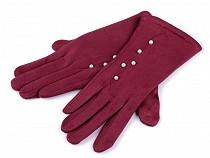 Damenhandschuhe mit Perlen