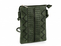 Crossbody Bag with Laser Cut Outs