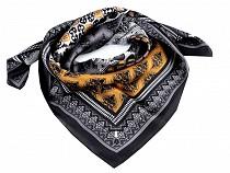 Saténový šátek 70x70 cm