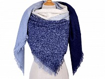 Pareo / Oversized Scarf with Tassels 135x135 cm
