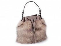 Fur Handbag 30x35 cm