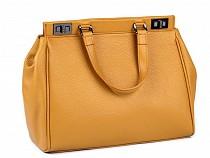 Kožená kabelka - dovoz Itálie 25x35 cm