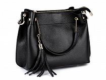 Italian Designer Leather Handbag / Purse 22x31 cm
