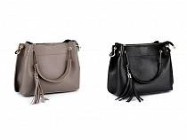 Kožená kabelka - dovoz Itálie 22x31 cm