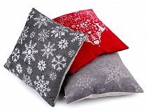 Cushion / Pillow Cover 45x45 cm Heart, Snowflake