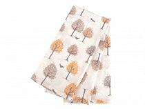 Cotton Kitchen Towels 50x70 cm mandala, polka dot, rose, checkered