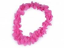Havajský věnec s květy