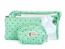 Kozmetikai táska készlet 3 db
