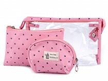 Ensemble de sacs pour produits cosmétiques, 3 pièces
