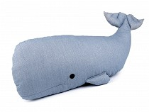 Pillow / Cushion Whale 22x66 cm