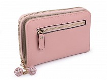 Ladies Wallet with Charm 10x16 cm