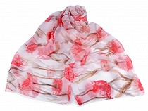 Artificial Silk Scarf / Shawl 135x185 cm