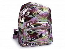 Backpack with Reversible Sequins 28x31 cm