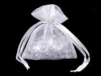 Darčekové vrecúško 8x10,5 cm organza shine