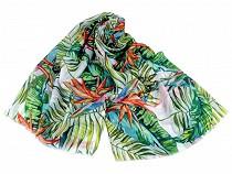 Kendő /  tropicmintás sál 85x180 cm