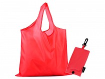 Folding Shopping Tote with Clip 38x44 cm