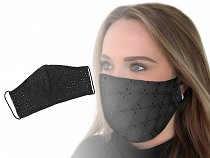 Cotton Face Mask with Elastic Madeira