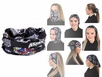 Multifunctional Bandana / Snood, Skulls