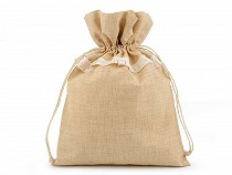 Burlap Gift Bag / Pouch 30x40 cm