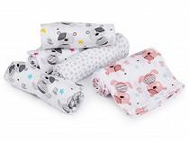 Cotton Printed Baby Cloth Diaper 75x75 cm