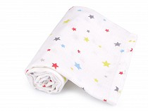 Cotton Printed Baby Cloth Diaper 75x75 cm