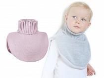Detský nákrčník pletený