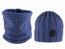 Pánska zimná sada čiapka a nákrčník