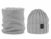 Mens Winter Set Hat and Snood