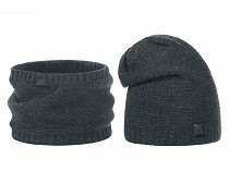 Mens Winter Hat and Snood Set
