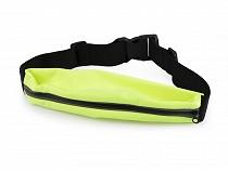Ledvinka na běhání, nepromokavá, reflexní, pružný pás