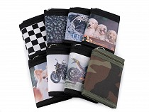 Boys Fabric Wallet with chain